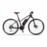 Elektrobicykel cross Apache Matto lady Bosch Active Plus 500 Wh čierna 2018