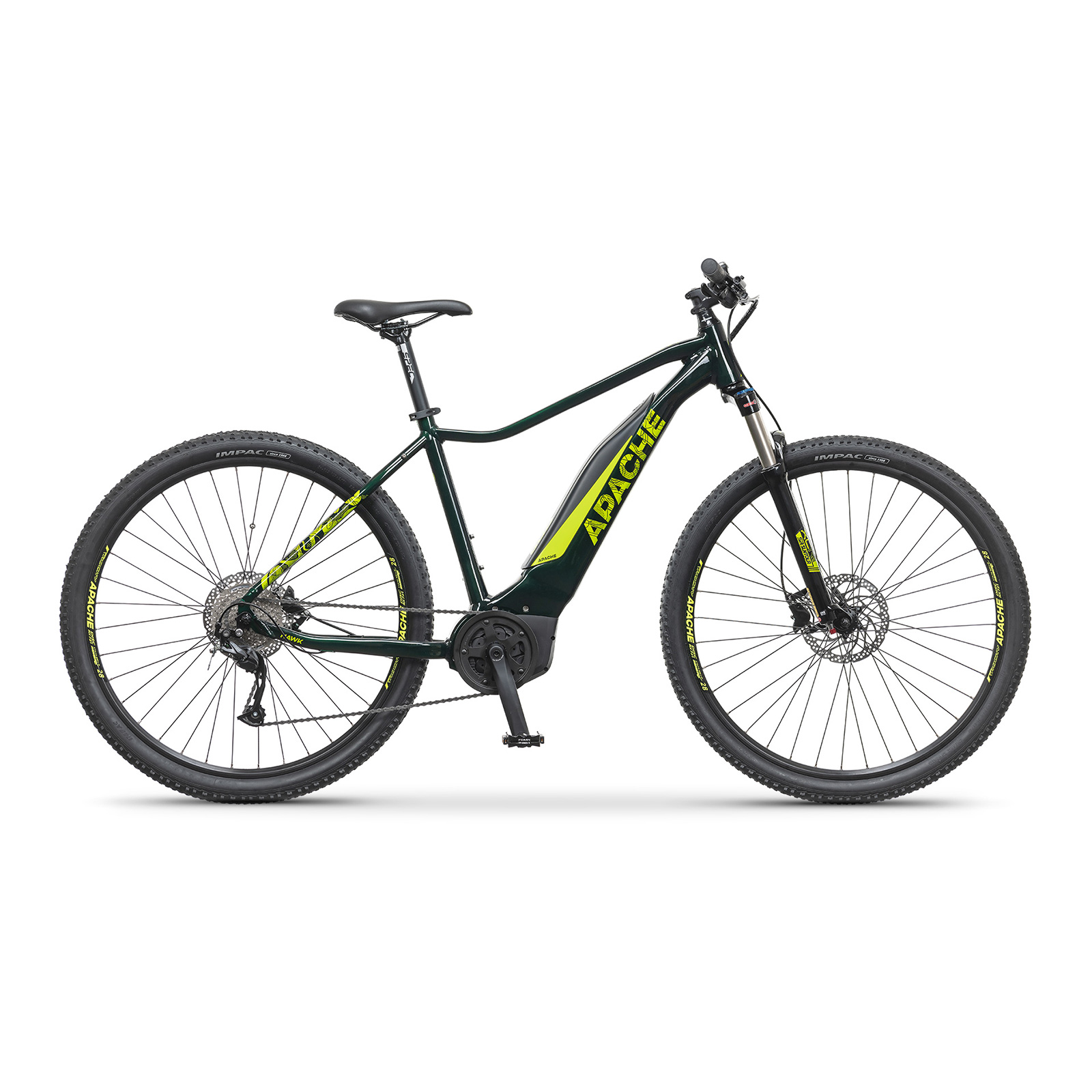 "Elektrobicykel MTB 29"" Apache Hawk Bosch Active plus 500 dark green"